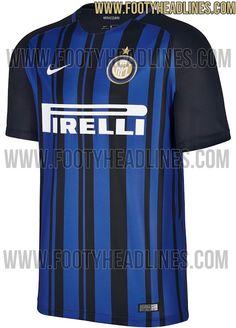 Inter Milan 17-18 Home Kit Leaked - Footy Headlines