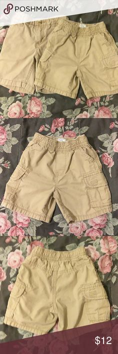 Boys shorts Boys shorts one from The children's place and the other from old Navy size 2t Old Navy Bottoms Shorts