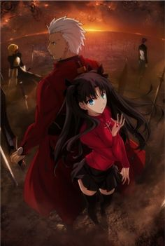 Fate/stay night. Visually, the most beautiful anime I've ever seen :D