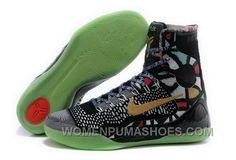 3ceb32667a90 Buy Cheap Nike Kobe 9 High 2015 All Star Black Gold Green Mens Shoes  Discount GxsjHF