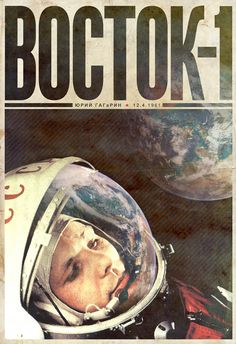 Space Race - Cosmonaut   A collection of posters based on the Soviet side of the Space Race.