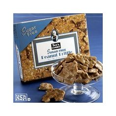 See`s Candies 8 oz. Sugar Free Peanut Brittle