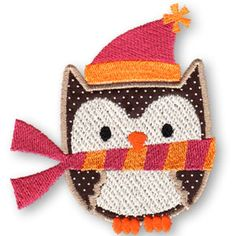 KMD-Applique Winter Owl 1