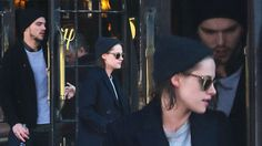 New Couple Alert? Kristen Stewart Leaves Hotel With Nicholas Hoult