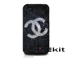 Chanels Swarovski Crystal iPhone 4 Case - Black   http://www.eiphoneaccessories.com/iphone-4/best-iphone-4-cases-apple-iphone-4-case/swarovski-crystal-iphone-4-case/chanels-swarovski-crystal-iphone-4-case-black.html