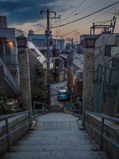 stairs at dusk | Flickr - Photo Sharing!