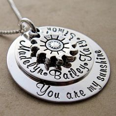 You Are My Sunshine Layered Necklace