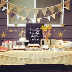 Delicately Sweet Confections: First Birthday, Twinkle, Twinkle Little Star, Ruffle cake