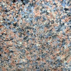 Blue Dakota: too pink? more $. Small specks of grey blue on a light terracotta background with fine speckles of black