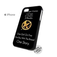 The Hunger Games Pages-Chapters-Books-The Girl On Fire-The Boy With Bread-The Story Phone Case For Apple,  iphone 4, 4S, 5, 5S, 5C, 6, 6 +, iPod, 4 / 5, iPad 3 / 4 / 5, Samsung, Galaxy, S3, S4, S5, S6, Note, HTC, HTC One, HTC One X, BlackBerry, Z10