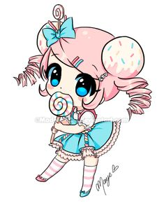 Magic sprinkles Chibi