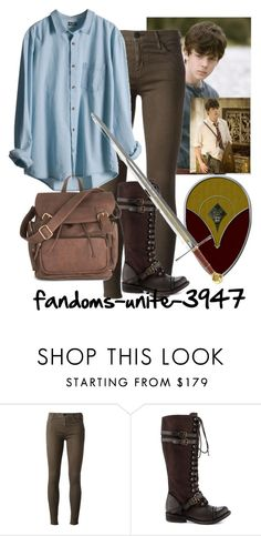 Narnia: Edmund Pevensie by fandoms-unite-3947 on Polyvore featuring Koral, ZIGIgirl, S.W.O.R.D. and Shield