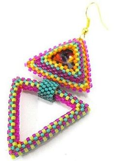 This hub follows up on my first beaded peyote triangles hub.It has pictures of lots more triangles for inspiration. It also has links for pay patterns. The patterns and examples include bracelets, earrings, pendants, and necklaces.