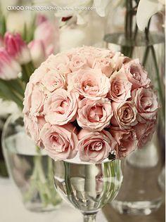 ballerina pink roses...