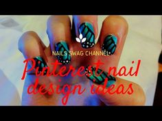 Pinterest Nail Designs For Beginners | 10 Seconds Nail Art Compilation