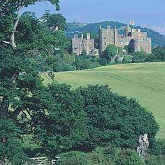 Somerset, england - Dunster Castle