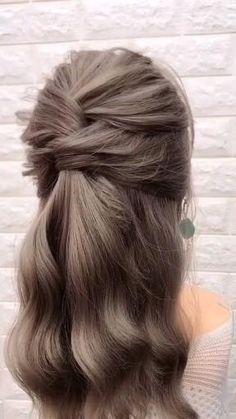 Cute Little Girl Hairstyles, Medium Layered Haircuts, Long Hair Video, Braided Hairstyles Tutorials, Hairstyle Tutorials, Hairstyle Ideas, Wedding Hairstyles Tutorial, School Looks, Party Hairstyles