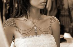 Eden With Shoulder & Necklace Jewelry  Efrat Davidsohn Designs,