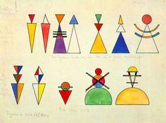 Wassily Kandinsky Bauhaus, Kandinsky Art, Wassily Kandinsky Paintings, Graphic Design Illustration, Illustration Art, Daffodil Tattoo, Art Lessons For Kids, Custom Art, Doodle Art
