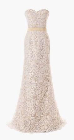 Dressystar Long Lace Mermaid Wedding Dresses