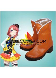 Love Live Maki Nishikino Cosplay Shoes