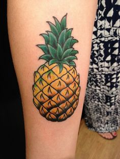 pineapple tattoo - Google Search More