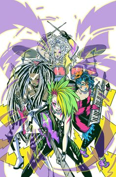 See The Misfits' New Look In Exclusive Jem & The Holograms Cover Reveal! Woo!!!