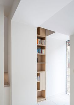 Interior of the Chelsea Town House by Moxon Architects.