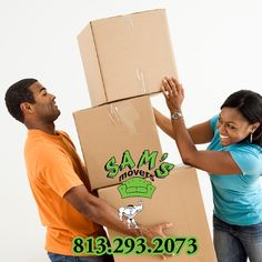813-293-2073 Sams Movers is the Top Mover in Tampa. Call for Moving Assistance Today. #movertampa #tampamover #moverintampa