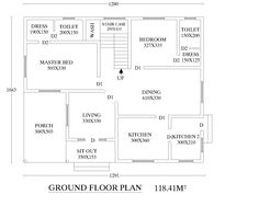 Free floor plans  Kerala and House plans on Pinterestsouth  n traditional house plans   Google Search
