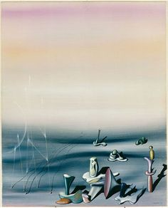 Quelques messieurs by Yves Tanguy Surrealism Painting, Painting Collage, Paintings, Yves Tanguy, Jean Arp, Cubism Art, Max Ernst, Rene Magritte, Italian Painters