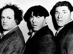 "(Larry, Moe and Shemp) They started as ""Ted Healy and his Southern Gentlemen"" which comprised Moe Howard, Larry Fine and Shemp Howard. This original trio did one feature film entitled Soup to Nuts after which Shemp left the group to pursue a solo career, and was replaced by his brother Curly Howard. This incarnation of the team was the first to be known on film as The Three Stooges."