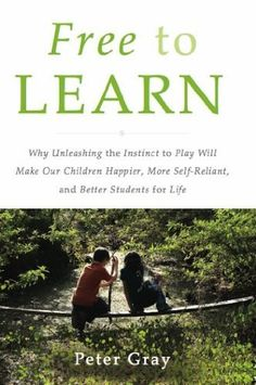Free to Learn: Why Unleashing the Instinct to Play Will Make Our Children Happier, More Self-Reliant, and Better Students for Life by Peter Gray, http://www.amazon.com/dp/B00B3M3KZG/ref=cm_sw_r_pi_dp_vtDosb0SW9C4Y