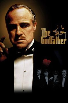 *THE GODFATHER,  (1972) Poster:  The aging patriarch of an organized crime dynasty transfers control of his clandestine empire to his reluctant son.  Starring:  Marlon Brando, Al Pacino, James Cann