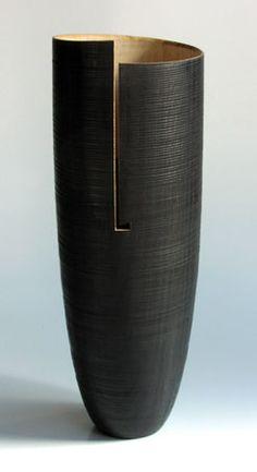 Oak-vase-stained