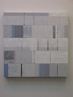 Steve Riedell  Snow  2010  36.0 x 36.0 x 3.3 in.    91.4 x 91.4 x 8.3 cm    Oil and wax on canvas mounted on wood