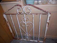 Vintage Part of an Iron Gate $95 Vintage Parts, Gate, Shops, Iron, Antiques, Storage, Furniture, Home Decor, Antiquities