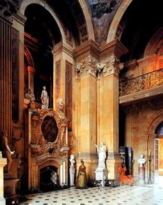 Castle Howard is a stately home in North Yorkshire, England, 15 miles (24 km) north of York. One of the grandest private residences in Britain, most of it was built between 1699 and 1712 for the 3rd Earl of Carlisle, to a design by Sir John Vanbrugh.