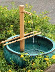 Gardener's Revolution Classic Vine Garden Kit | Gardeners.com Bamboo Water Fountain, Diy Fountain, Indoor Water Fountains, Small Fountains, Fountain Design, Indoor Fountain, Garden Fountains, Garden Statues, Asian Garden