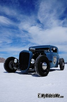 Hot Rods of 2011 Bonneville Speed Week - sometimes at Bonneville, you can't take a bad picture