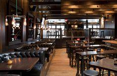 {Old Saloon Gentleman's Club} The Bimini Neighbourhood Pub, Vancouver, designed by Evoke International Design.