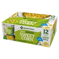 Members Mark Whole Kernel Sweet Corn Healthy Bulk Party Dorm Size Nissin Cup Noodles, Canning Sweet Corn, Quick Side Dishes, Canned Corn, What To Use, Green Bean Casserole, Easy Casserole Recipes, Frozen Corn, Sweet 15