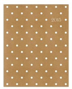 15 Stylish Planners for 2015 - Sugar Paper Kraft Planner, $12.99; at Sugar Paper