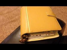 ▶ My updated planner setup part 1- Franklin Covey- Faux Filofax - YouTube