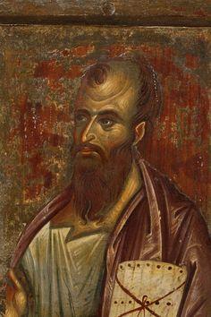 St. Paul Byzantine Art, Byzantine Icons, Russian Icons, Best Icons, The Kingdom Of God, Orthodox Icons, Sacred Art, Christian Art, Portrait Art