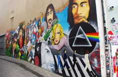 Music Legends Street Art.
