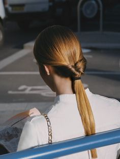"""""""Pony up"""". Photographed by Lena C. Emery for The Gentlewoman S/S 2015"""