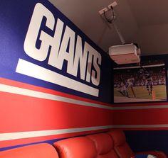 #newyorkgiants, #giants, #nfceast, #bigbluewreckingcrew, #gints, #ibleedblue, #mancave New York Giants Logo, House Additions, New York Giants Football, Nfc East, New England Patriots, Man Cave, Garage, Meme, Funny