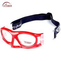 1cedaa3faa Colorful color Professional Basketball glasses Football Sport s glasses  Goggles eye frame match optical lens myopia nearsighted