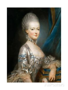 Portrait of Archduchess Maria Antonia of Austria (1755-179) Giclee Print by Joseph Ducreux - AllPosters.ca